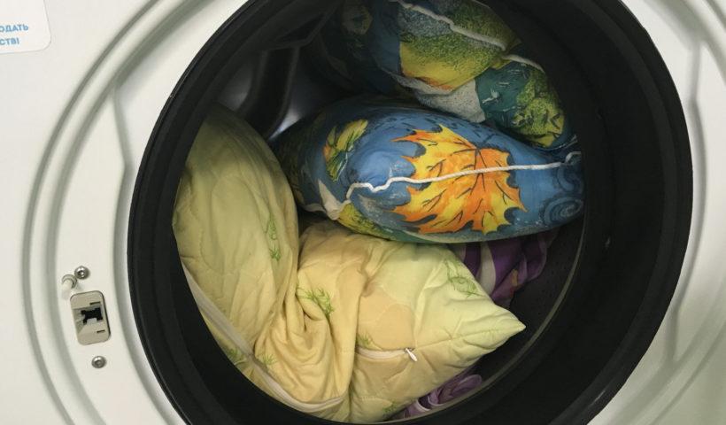 Где постирать одеяла, покрывала и подушки в Калининграде?