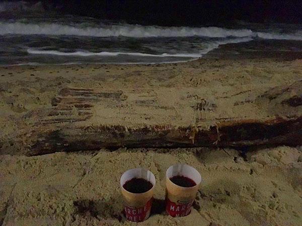 Предновогодняя ночь в Светлогорске на море