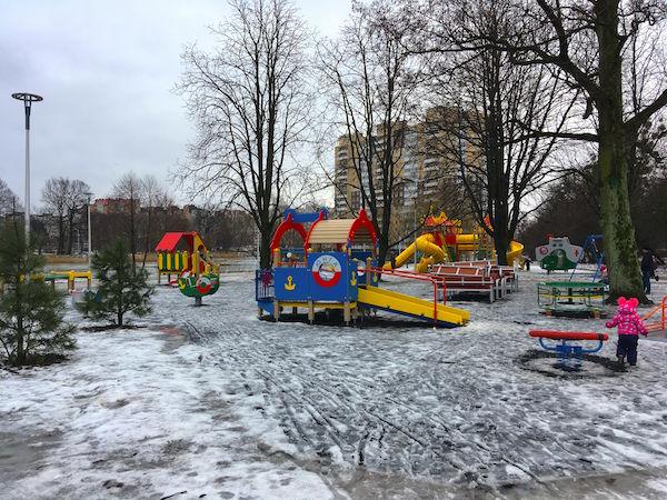 Ремонт или разгром Летнего озера в Калининграде?