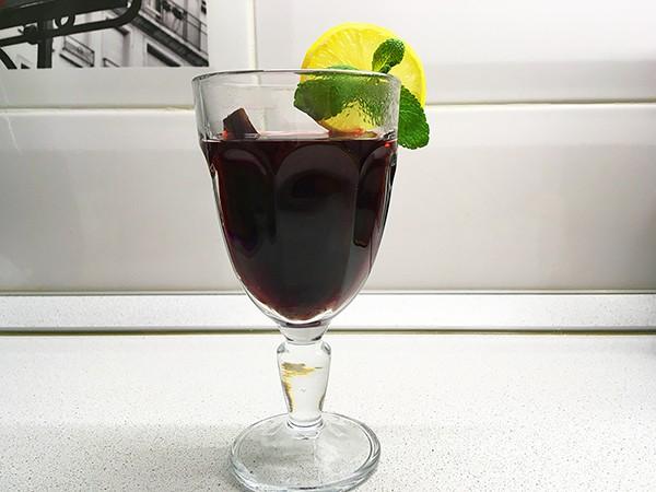Глинтвейн из красного сухого вина без сахара