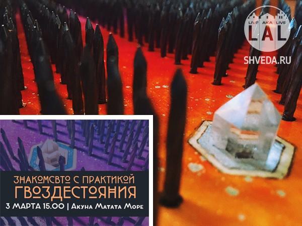 Практика гвоздестояния в Калининграде