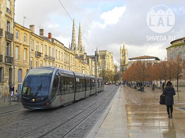 Об общественном транспорте в Бордо