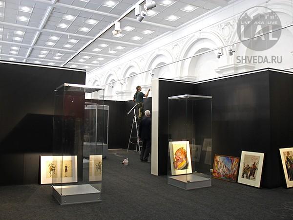"""За кулисами выставки """"Легенды Большого театра"""""""