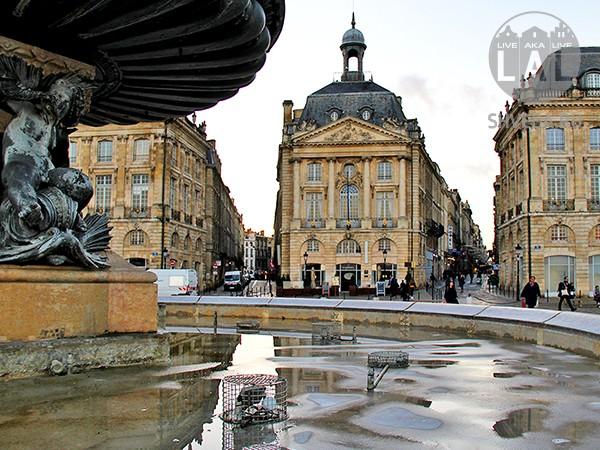 Достопримечательность: Площадь Биржи в Бордо (Place de la Bourse)