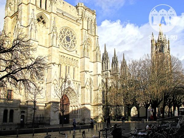 Собор Сен-Андре в Бордо (Cathédrale Saint André)