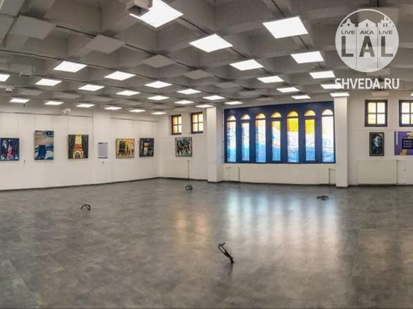 Выставка Израила Гершбурга в новой синагоге Калининграда