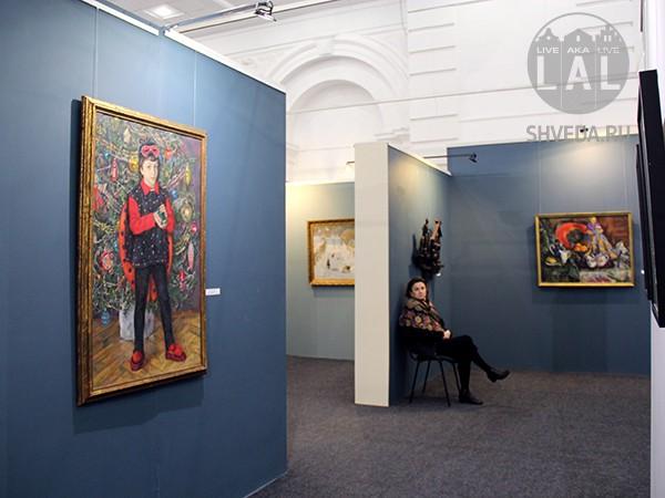 Зимняя выставка в Калининграде
